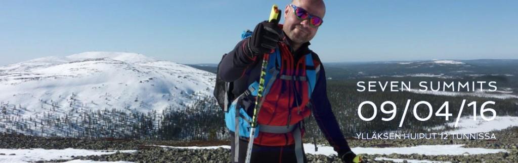 Erilainen hiihtotapahtuma – Ylläksen seitsemän huippua 12 tunnissa