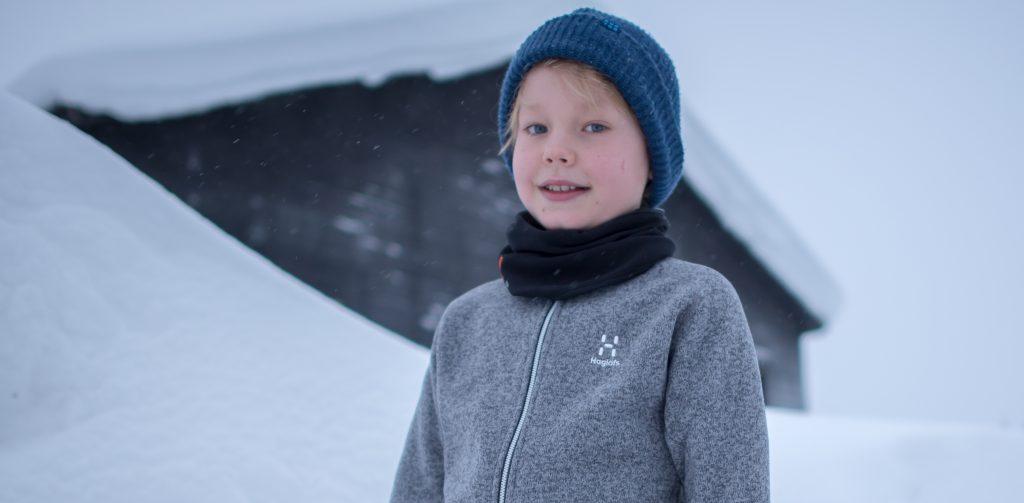 Käyttökokeessa Haglöfsin lasten malliston Barrier & Swook Jacket