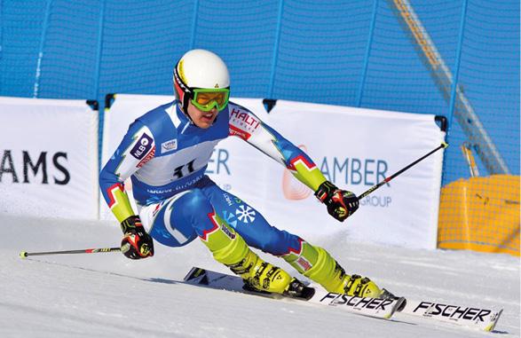 Jose Partanen, Nilsiä Ski – erilainen polku alppihiihtäjäksi