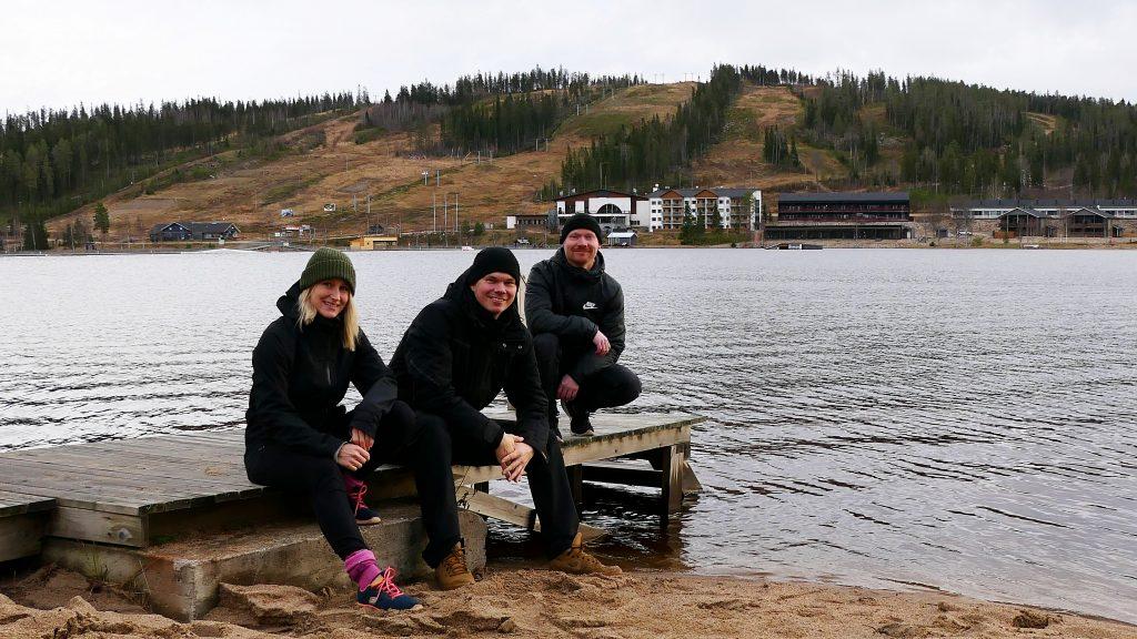 Ukkohalla Ski Resortin vetäjiksi tuttu kolmikko