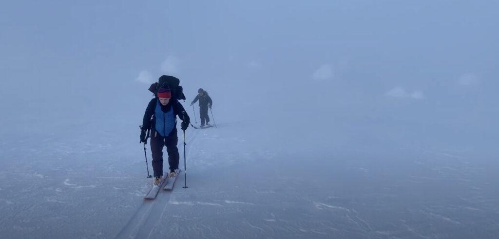 U-Freeski: Vapaalaskuvaellus Luostolta Pyhälle - 2021
